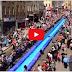 Street in Bristol, UK turned into Water Slide (Video)