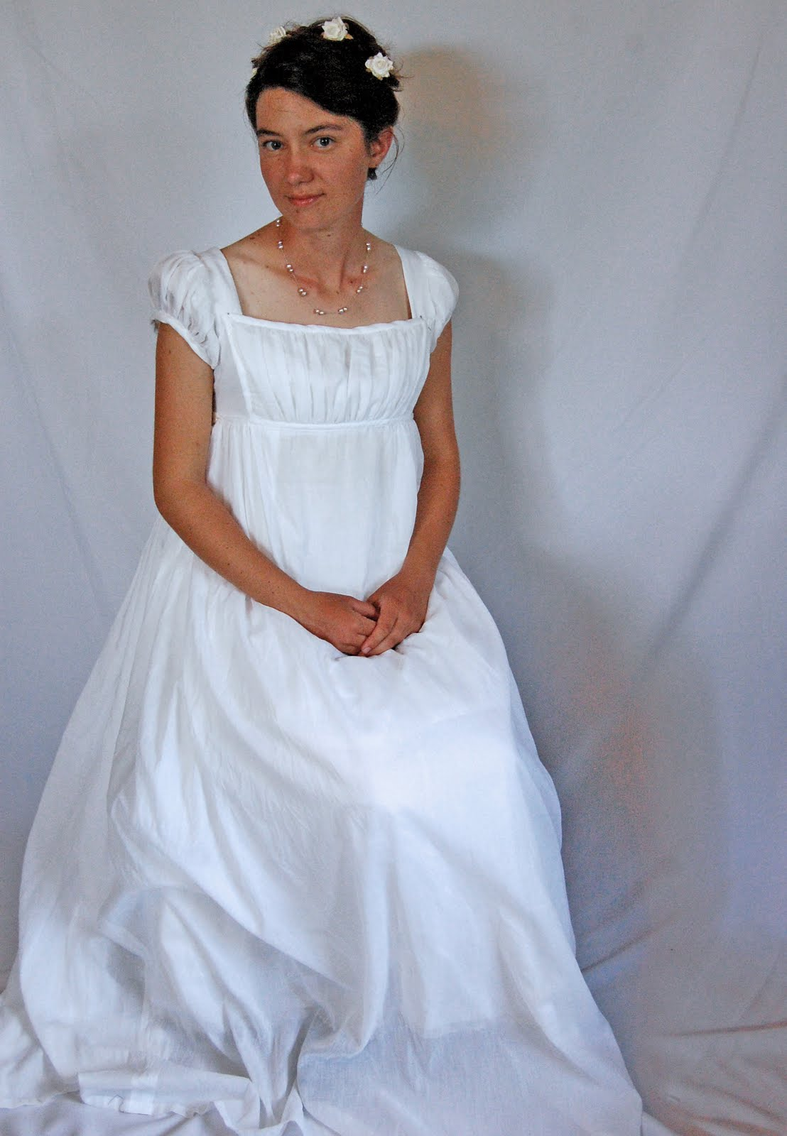 The Story Of A Seamstress  Regency Ball Gown