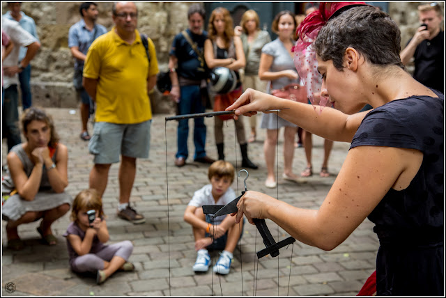 Atrapado en los hilos: espectáculo de marionetas en Sant Felip Neri
