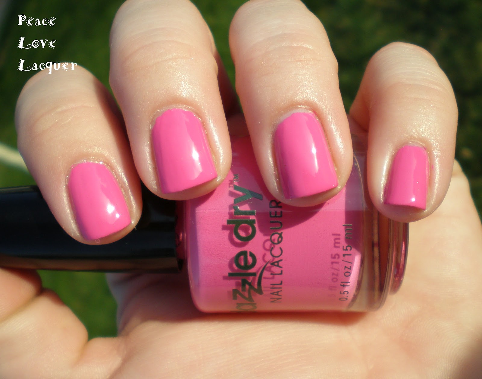 Peace Love Lacquer: Dazzle Dry Review