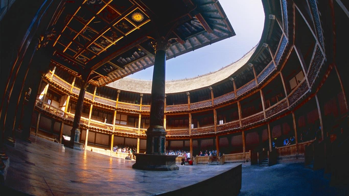 Shakespeare's Globe Theatre, London, England (© Alain Schroeder/age fotostock) 253