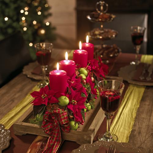 Poinsettias una tradicional decoraci n navide a for Decoracion navidena
