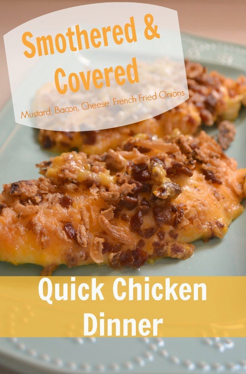 Smothered Chicken Breasts Recipe — Dishmaps