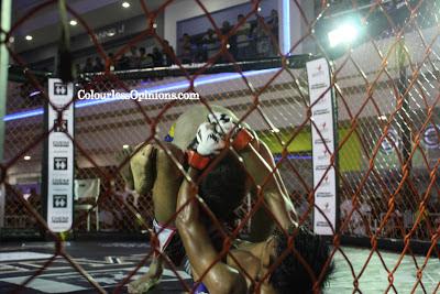 Triangle Choke fouzein MFC6 Malaysian Fighting Championship 6 MMA