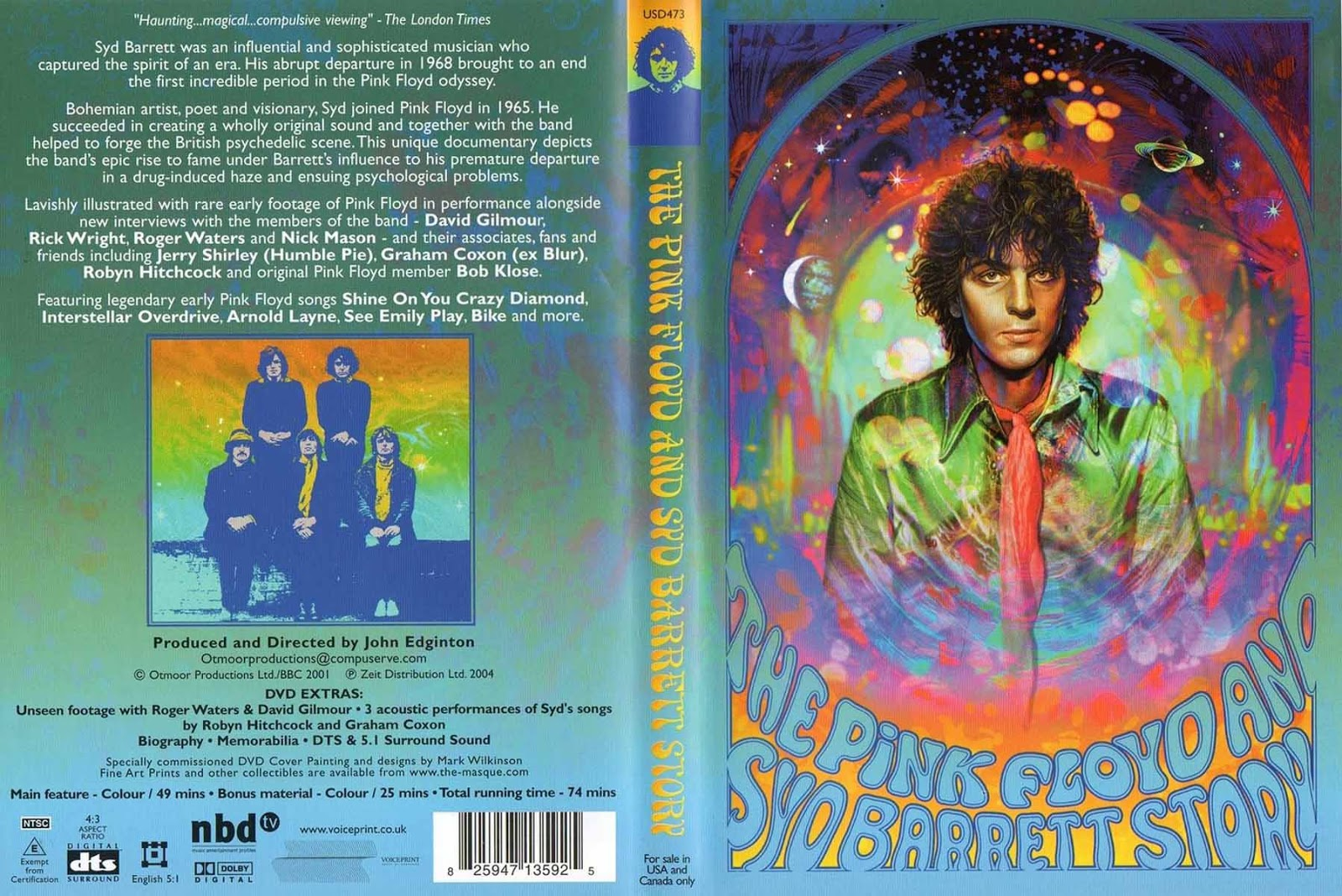 the syd barrett story Syd created music that was so abstract and transcendent that it is often misunderstood for a bunch of drug generated bullshit honoring rock bands and artists, pete townshend gave a speech honoring syd barrett, and telling a story where he told eric clapton that he had to come see this guy play, who was barrett.