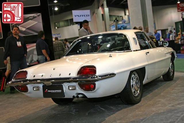 Mazda Cosmo Sport 110 stary japoński samochód oldschool klasyk sportowy