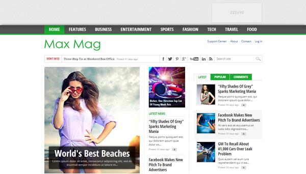 Latest New SEO and Google adsense optimized blogger templates free ...