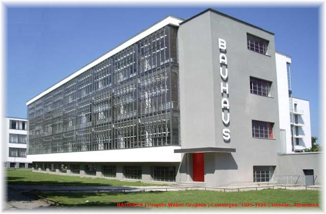 Bauhaus | Dessau Alemanha | Construída 1925-1926 | Projeto Walter Gropius