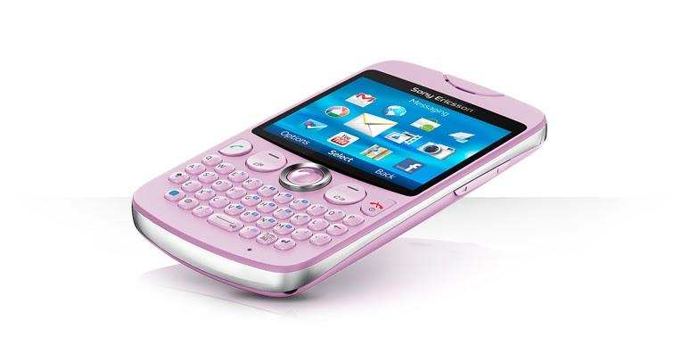 Celular Sony Ericsson txt con cámara de 3.2 megapixeles ...