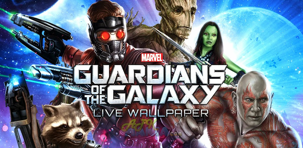 Guardians of the Galaxy LWP (Premium) [v1.03 Apk File]
