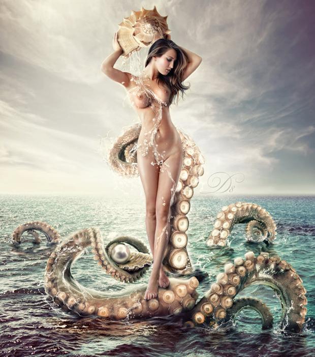 A incrível arte digital de Eva Lagnim