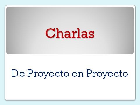 Descarga: Mis charlas sobre gestión de proyectos