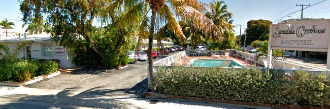 Motel Unterkunft in Key West, Florida USA
