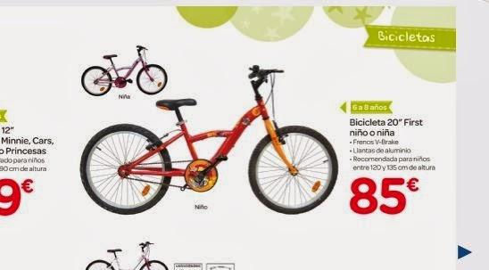 Descuento bicicletas carrefour
