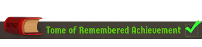 Tome of Remembered Achievement