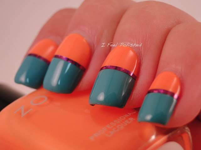 Easy Striping Tape Nails