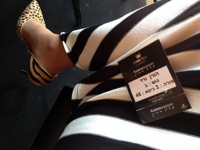בלוג אופנה Vered'Style שבוע האופנה גינדי תל אביב