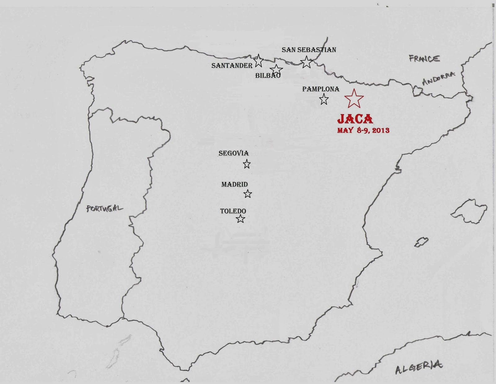 Jaca Spain  city pictures gallery : Wasatch Solo: Jaca, Spain gateway to the Pyrenees , May 8 and 9, 2013