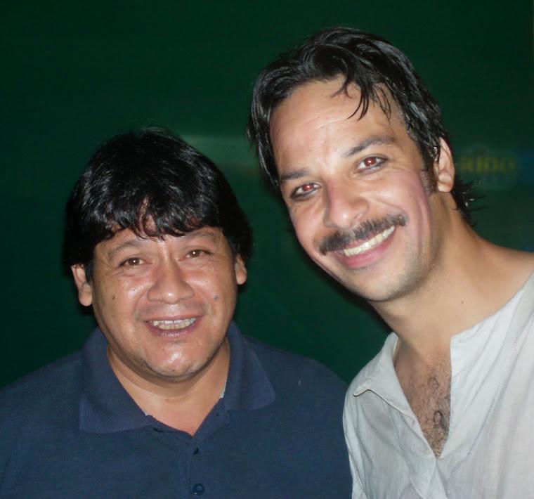 Con Iñigo Urrutia