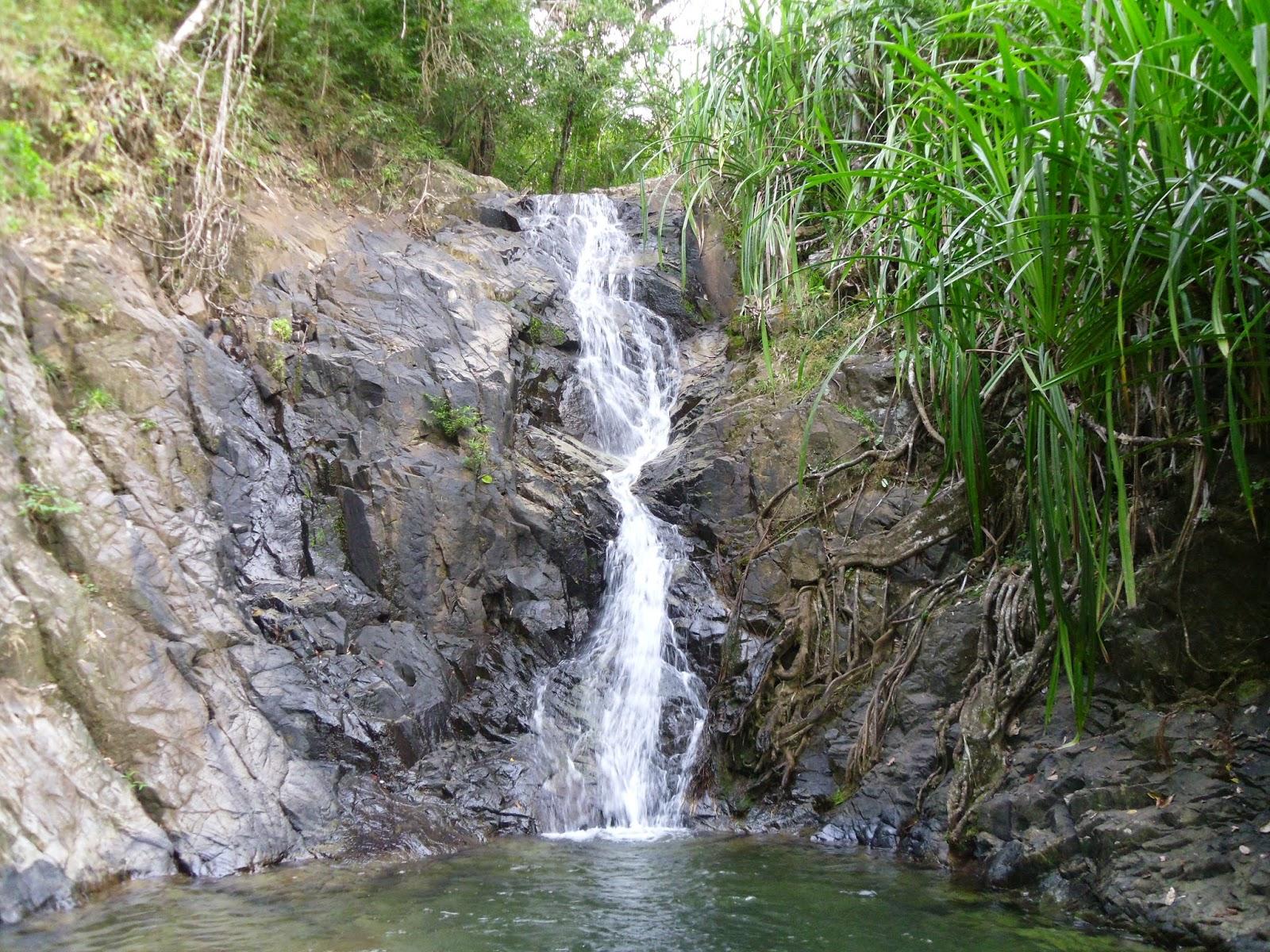 Trilha da cachoeira em El Nido