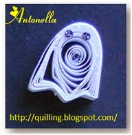 Free Quilled Quilling Ghost Pattern
