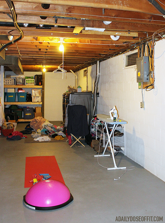 Your basement can be a gym. You just need space, and a few pieces of equipment.