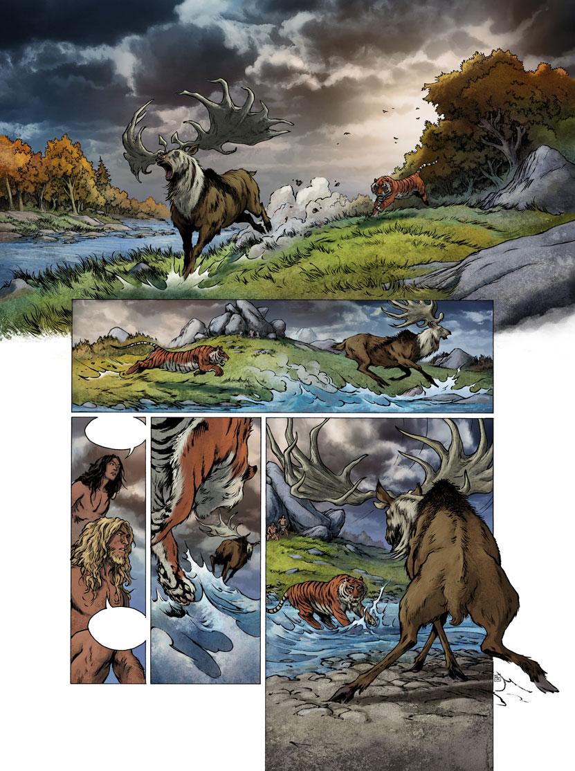 Roudier neandertal la guerre du feu 1 dernier coup d 39 oeil - Porte sur le feu et jete dedans ...
