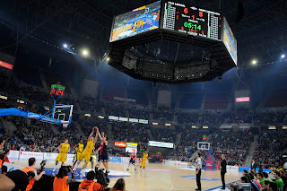 El Gran Canaria lució bien en el reestreno del Buesa Arena - ACB PHOTO