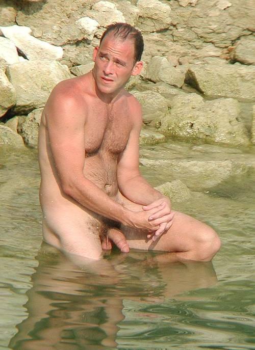Boys Bathing Nude