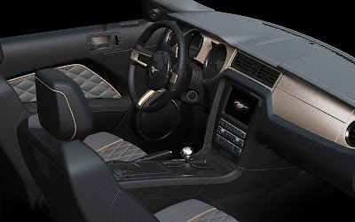 2013 Ford Mustang GT High Gear interior