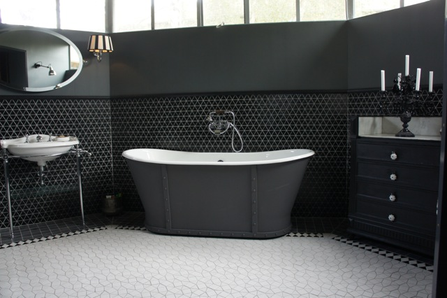 Blog emaux de briare toute l 39 actu sur la mosa que - Salle de bain en noir et blanc ...