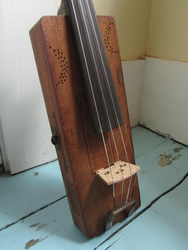 build cigar box fiddle 2
