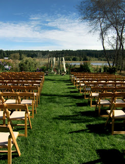 Ceremony site at Fireseed      Photo by Patricia Stimac