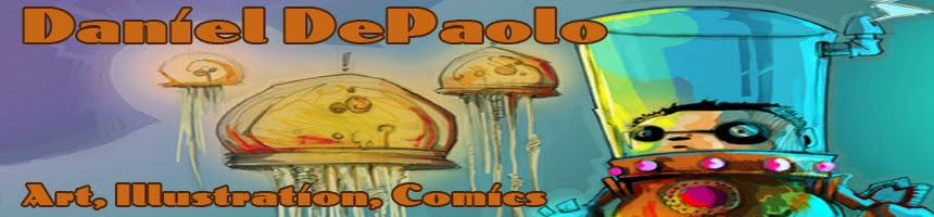 Daniel DePaolo Artist, Illustrator, and Comic creator