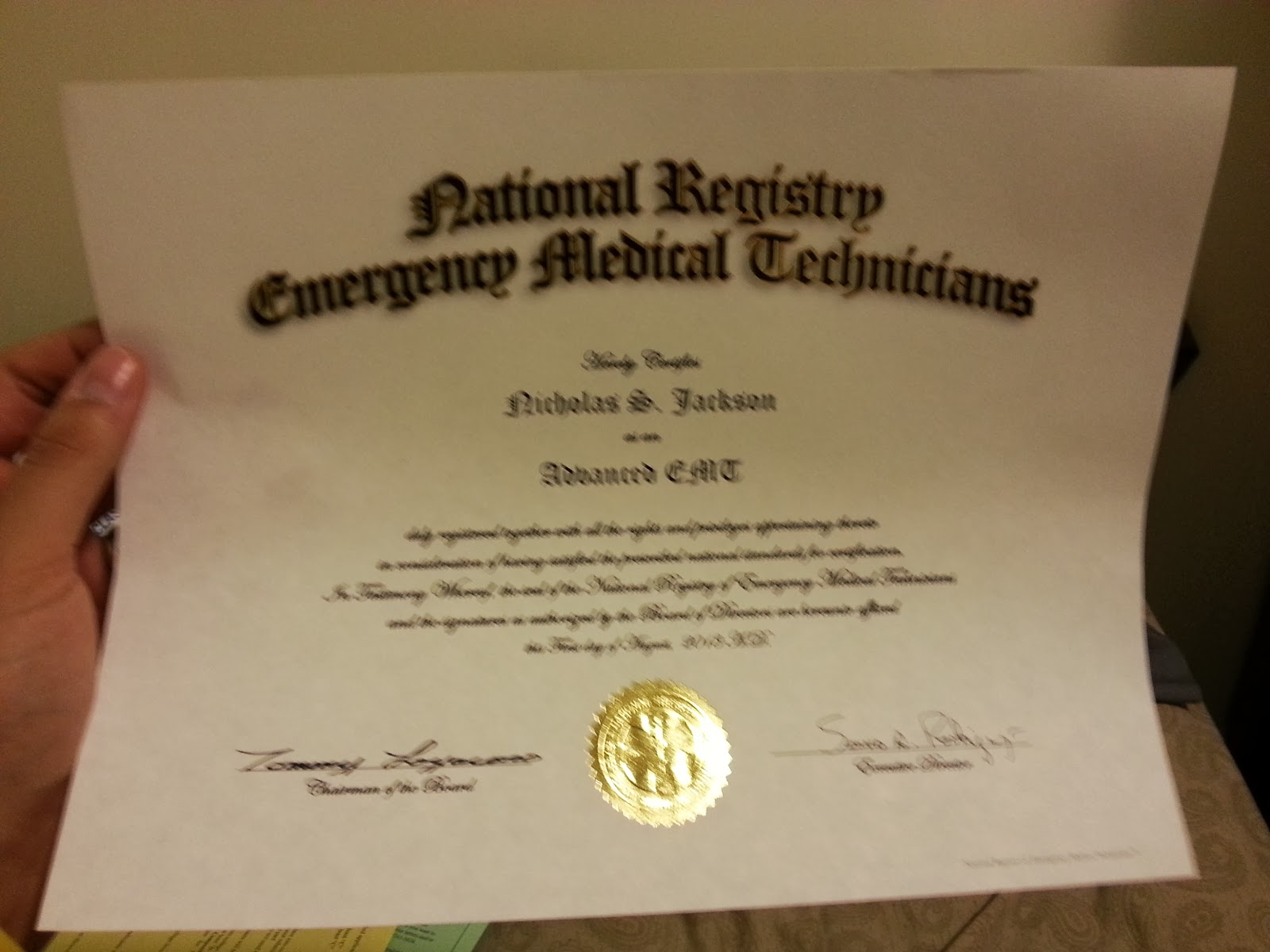 Nremt aemt my pretty little certification 1betcityfo Images