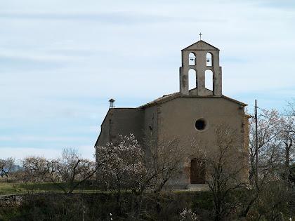 L'església de Santa Magdalena de l'Espelt