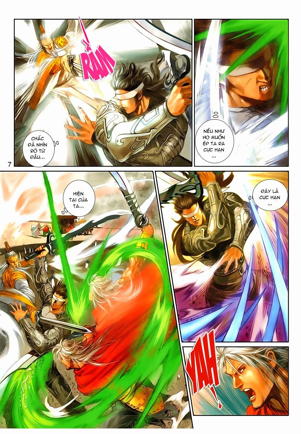 Thần Binh Tiền Truyện 4 - Huyền Thiên Tà Đế chap 9 - Trang 7