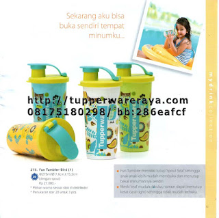 TupperwareRaya-Katalog Tupperware Reguler 2013, fun tumbler