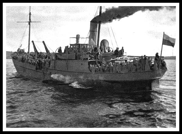 legión checoslovaca, guerra civil rusa, tren barco vladivostok