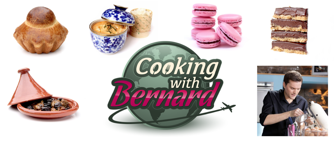 Cooking with Bernard