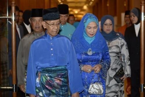 Tuanku Abdul Halim Mu'adzam Shah-biru