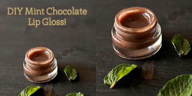 Cantik : Tips Bikin Sendiri DIY Lipgloss Cokelat Mint