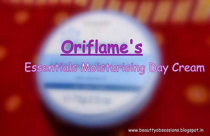Review -  Essentials Moisturising Day Cream From Oriflame