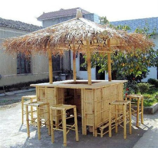 Bamboo Patio Set2