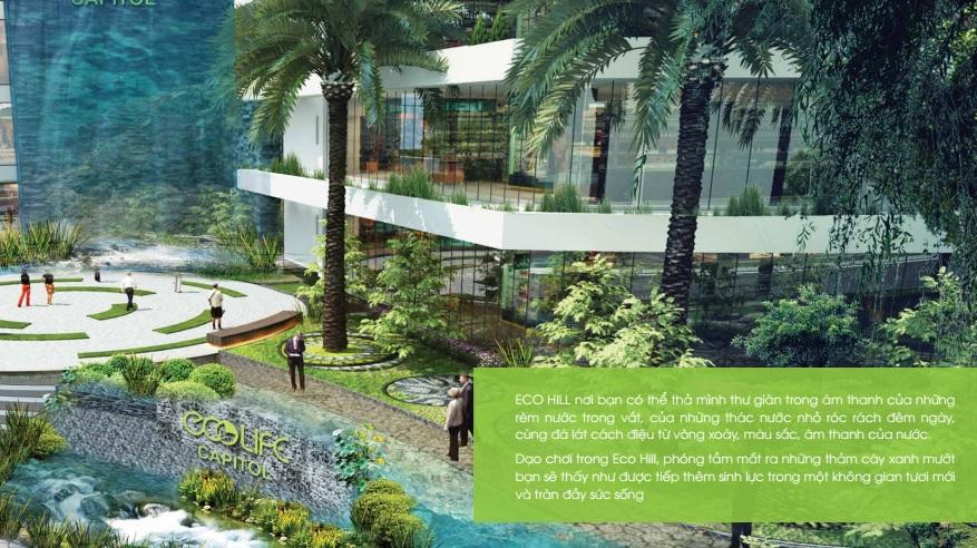 Kiến trúc xanh ở Ecolife Capitol