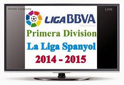 Jadwal & Siaran Langsung La Liga Spanyol 2014-2015