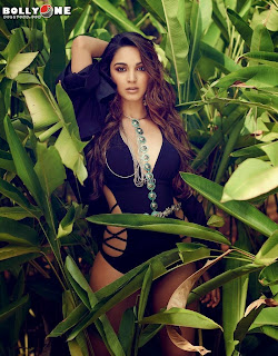 Kiara Advani swimsuit pos on Maxim 2