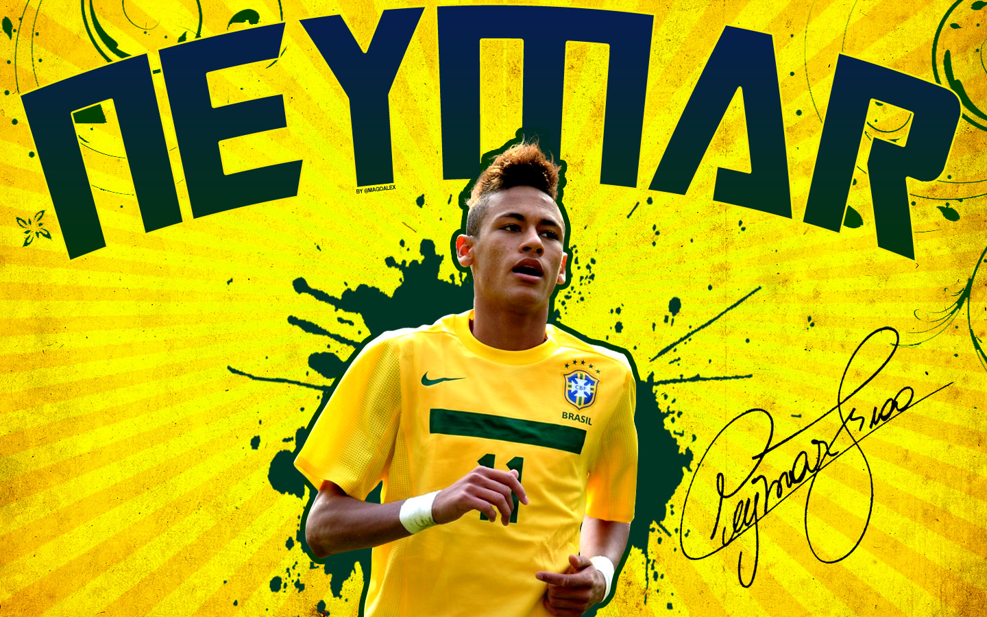 Football Wallpapers: Neymar Wallpapers