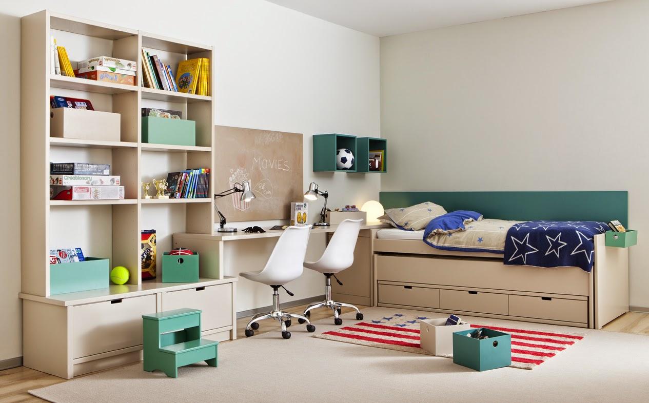 Los m s peque os se lo merecen habitaciones juveniles e infantiles - Amueblar espacios pequenos ...