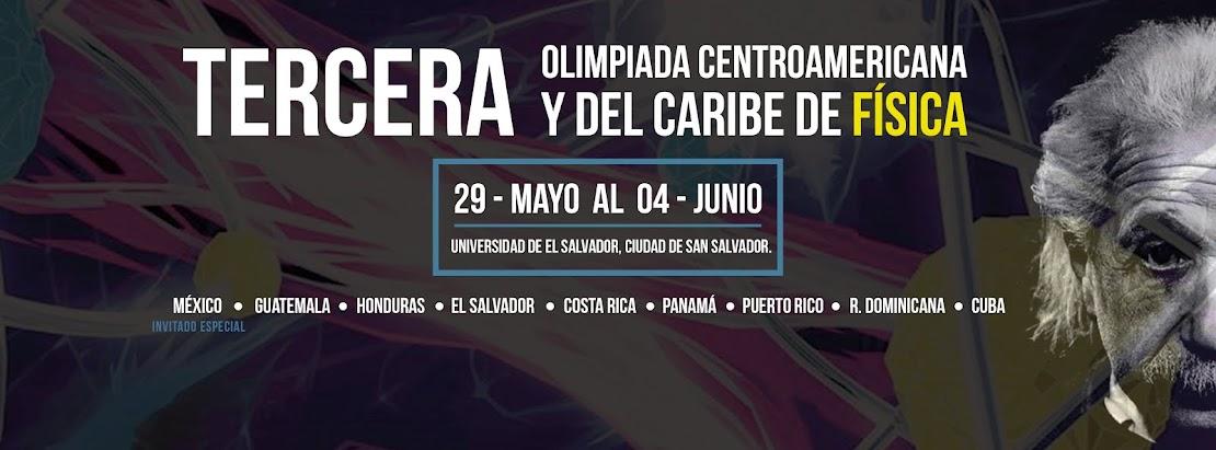 III Olimpiada Centroamericana y del Caribe de Física.